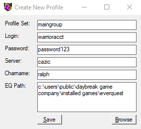 Utility - MQ2AutoLogin | RedGuides: EverQuest Multi-boxing Community