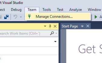 Guide - - Using git with Visual Studio 2017: absolute
